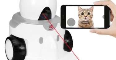 App-Enabled FunPaw Playbot Q Pet Camera & Pet Feeder
