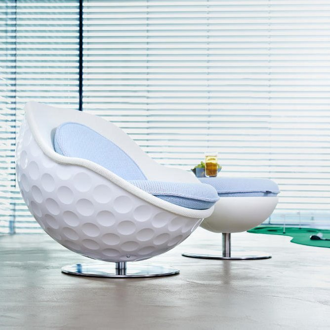 Eagle Golf Ball Lounge Chair