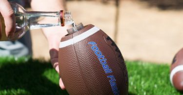 BoozeBlitz Football Flask