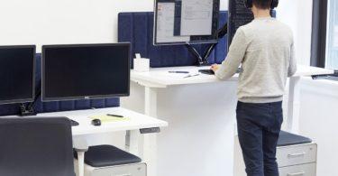 Loft Adjustable Height Standing Desk