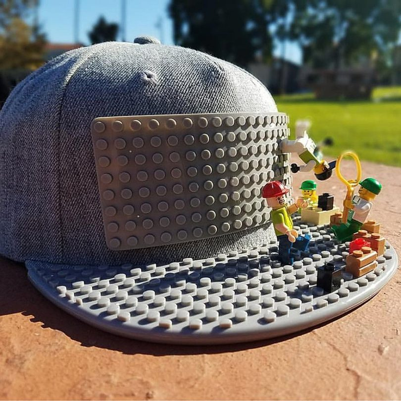 Brick Brick Lego Hat