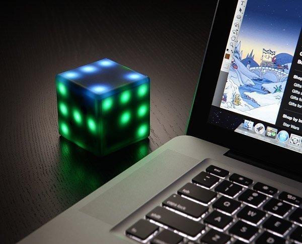 Interactive LED Futuro Cube
