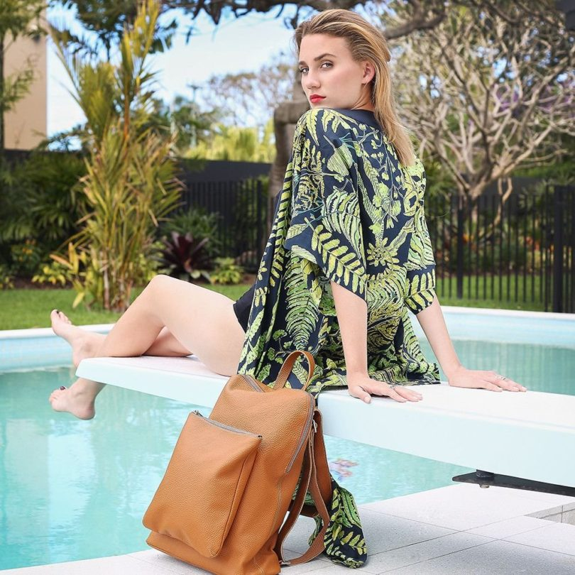 There's Something About Mary Shoulder/Backpack Bag by Mary and Marie