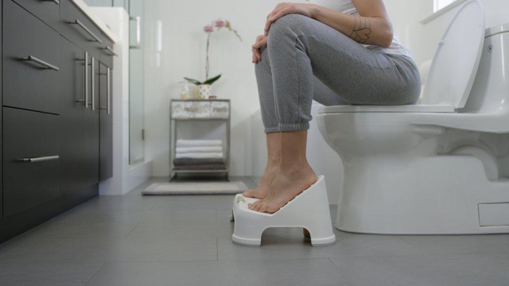 TURBO Bathroom Toilet Stool