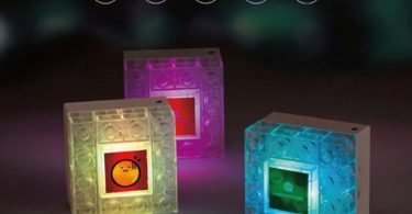 Photo Frame DIY Blocks Lamp