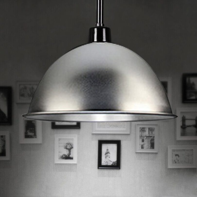 BAYCHEER HL443114 Industrial Style 13.7 inch Hanging Lamp