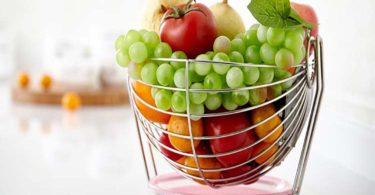 Tenta Kitchen Simplicity Collection Stainless Steel Wire Fruit Bowl
