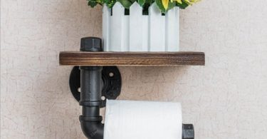 Bathroom Shelf & Roll Holder