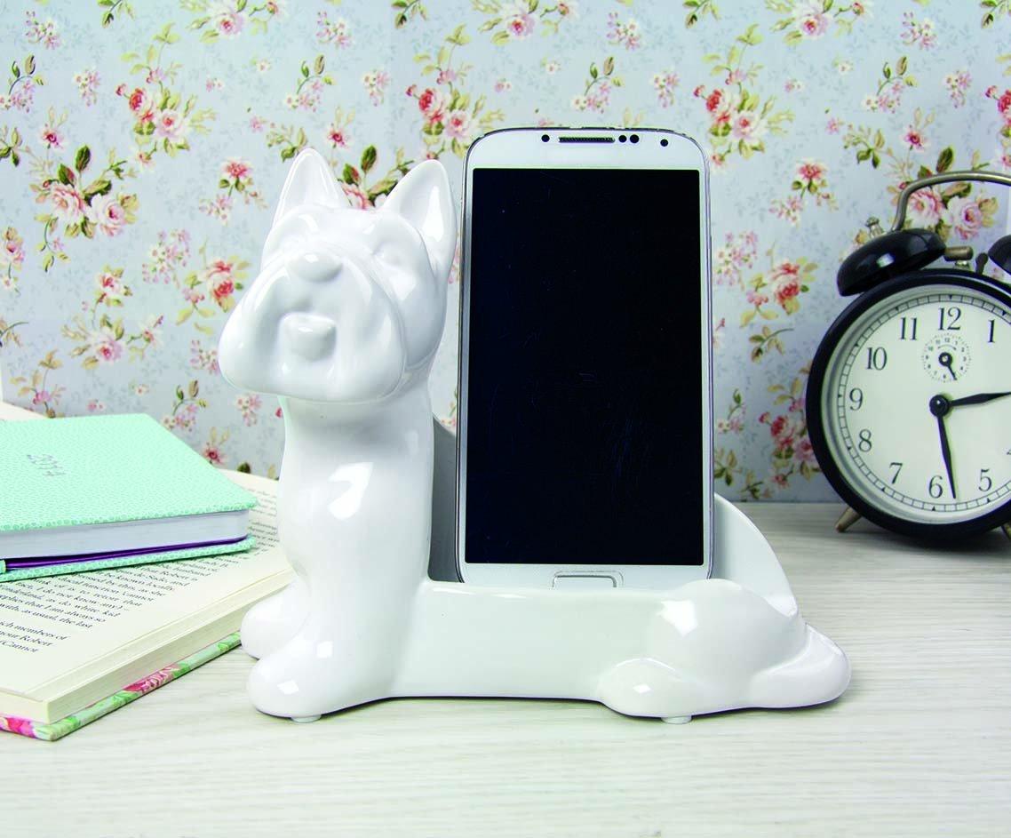 Paladone Dog & Bone Ceramic Phone Stand