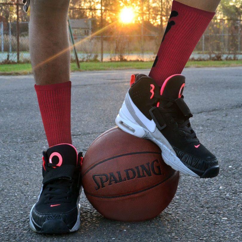 Basketball Sock by ChalkTalk SPORTS