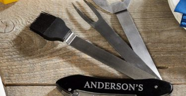 All-in-One Folding BBQ Tools & Bar Accessories