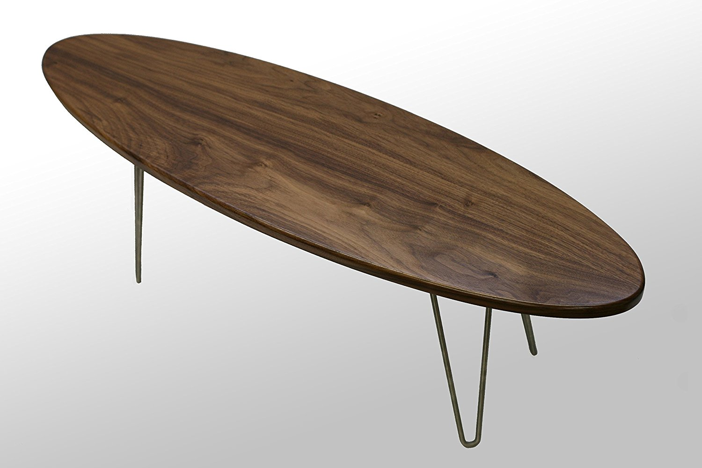 The Longboard Coffee Table: Walnut