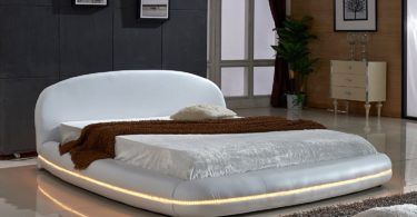 Dylan Collection Modern Leather Bed