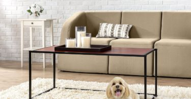 inus Modern Studio Collection Classic Rectangular Coffee Table