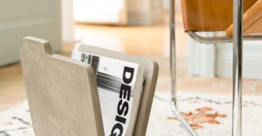 Doc Concrete Magazine Rack