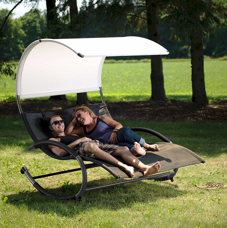 Vivere Double Chaise Rocker