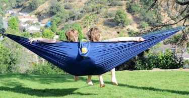 Portable Lightweight Parachute Nylon Hammock