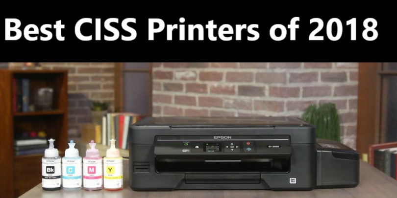 Best CISS Printers Of 2019 – The Definitive Roundup And Buyer's Guide