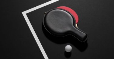 Leather Ping Pong Paddle Case