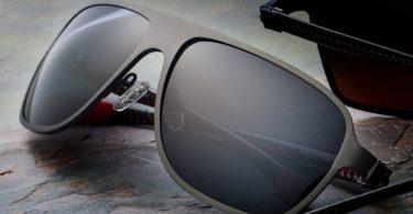 Breed Atmosphere Gunmetal Carbon Fiber Sunglasses