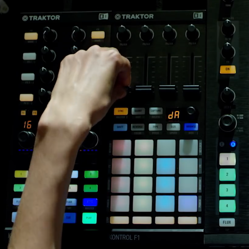 Traktor Kontrol F1 by Native Instruments