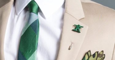 Army Man Lapel Pin