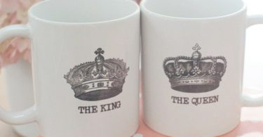 The King and Queen Couple Mugs