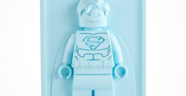 Bas-Relief Sculpture Lego Superman