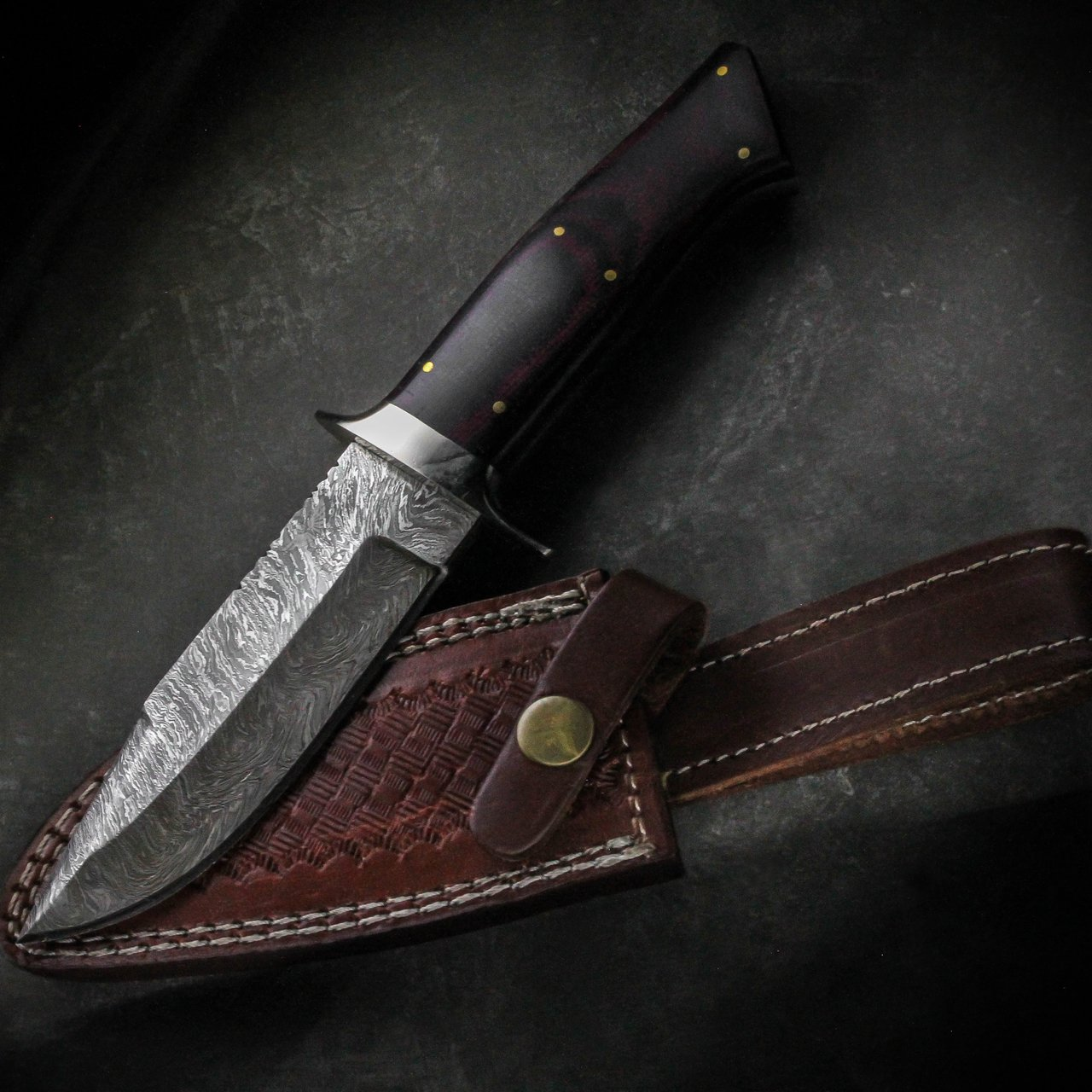 HTS-69 Damascus Handmade Knife