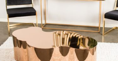 Luca Gold Coffee Table