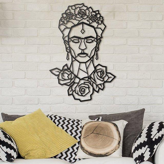 Frida Kahlo Metal Wall Art