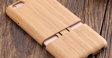 Natural Bamboo iPhone Case