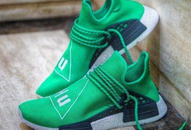 Adidas NMD Pharrell HU Human Race Green