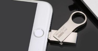 HooToo iPhone iPad iPod Flash Drive 128GB USB 3.0 to MFi Lightning connector
