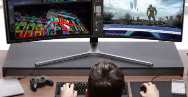 Samsung CHG90 49″ Screen LED-Lit Monitor