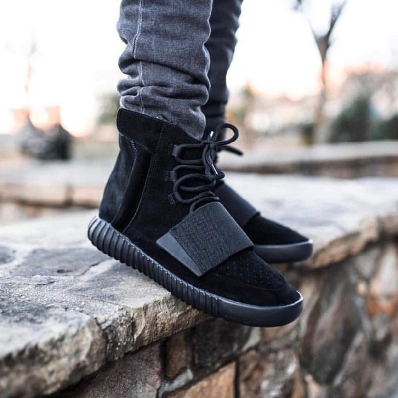 check out 08f8e 5781b Adidas Yeezy Boost 750 Triple Black » Petagadget