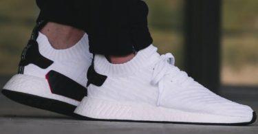 Adidas NMD R2 PK White Black
