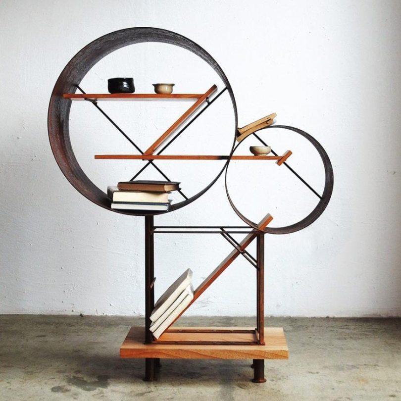 HT Studio Shelf 02 by Hamajima Takuya Studio