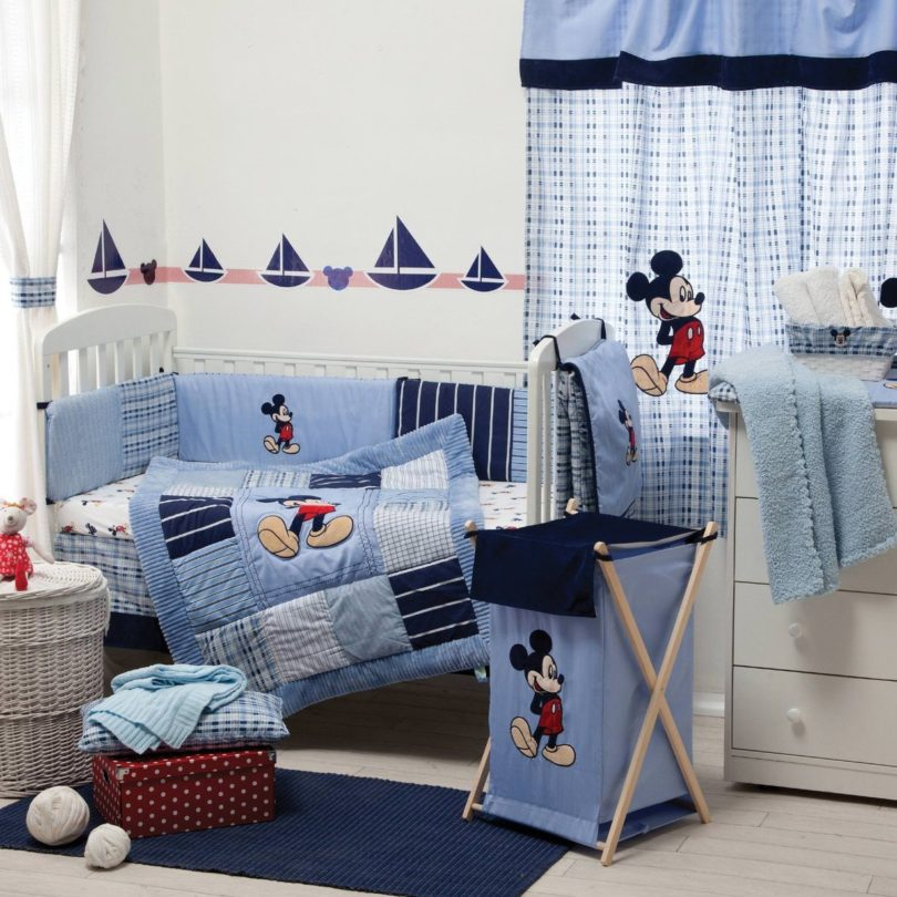 Cute Mickey Mouse Bedroom Set Style