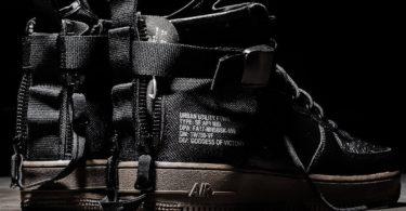 Nike SF AF1 Mid Hazel Sneakers