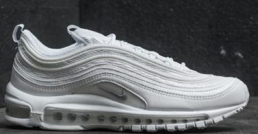 Nike Air Max 97 White & Wolf Grey Sneakers
