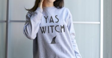 YAS Witch Sweatshirt