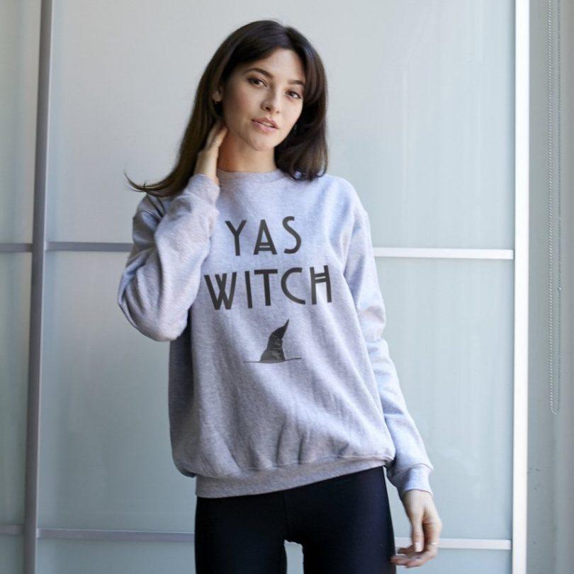 YAS Witch Sweatshirt