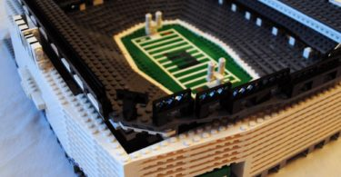 NY Jets MetLife Stadium by StadiumBrick