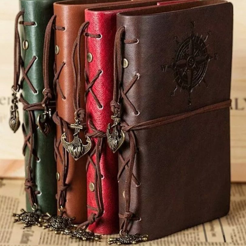 Leather Cover Vintage Pirate Journal