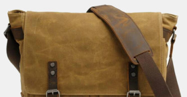 Waterproof Canvas Messenger Bag
