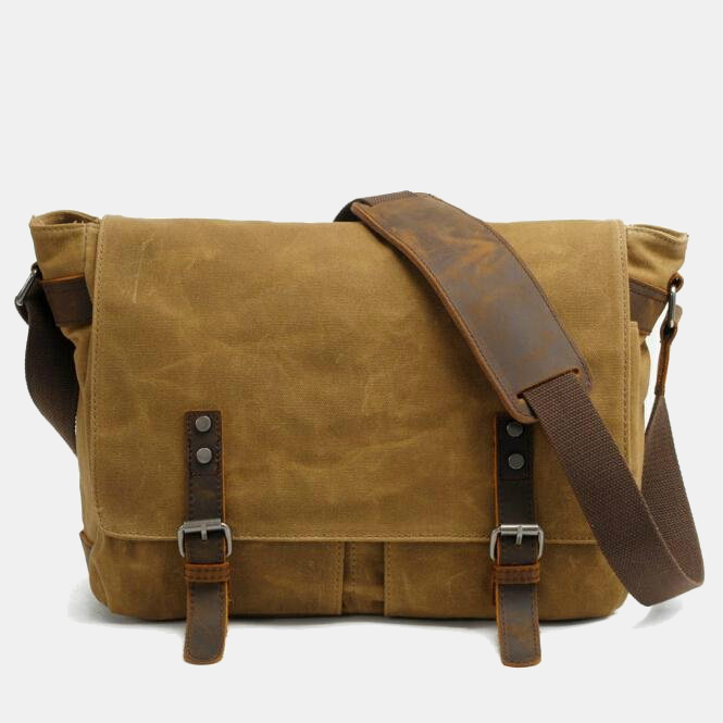 Waterproof Canvas Messenger Bag
