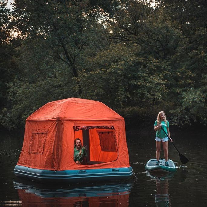 Shoal Floating Tent