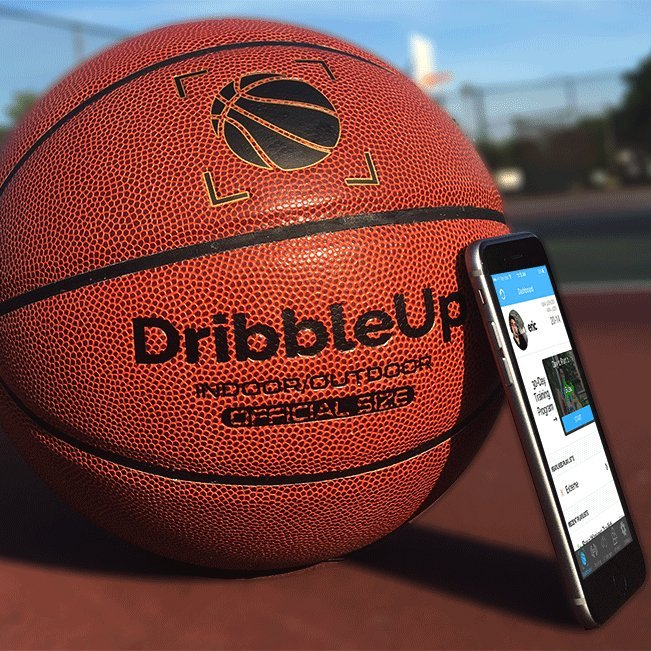DribbleUp Smart Basketball With Virtual Trainer App