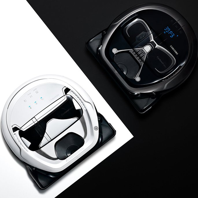 Samsung POWERbot Star Wars Limited Edition Vacuum
